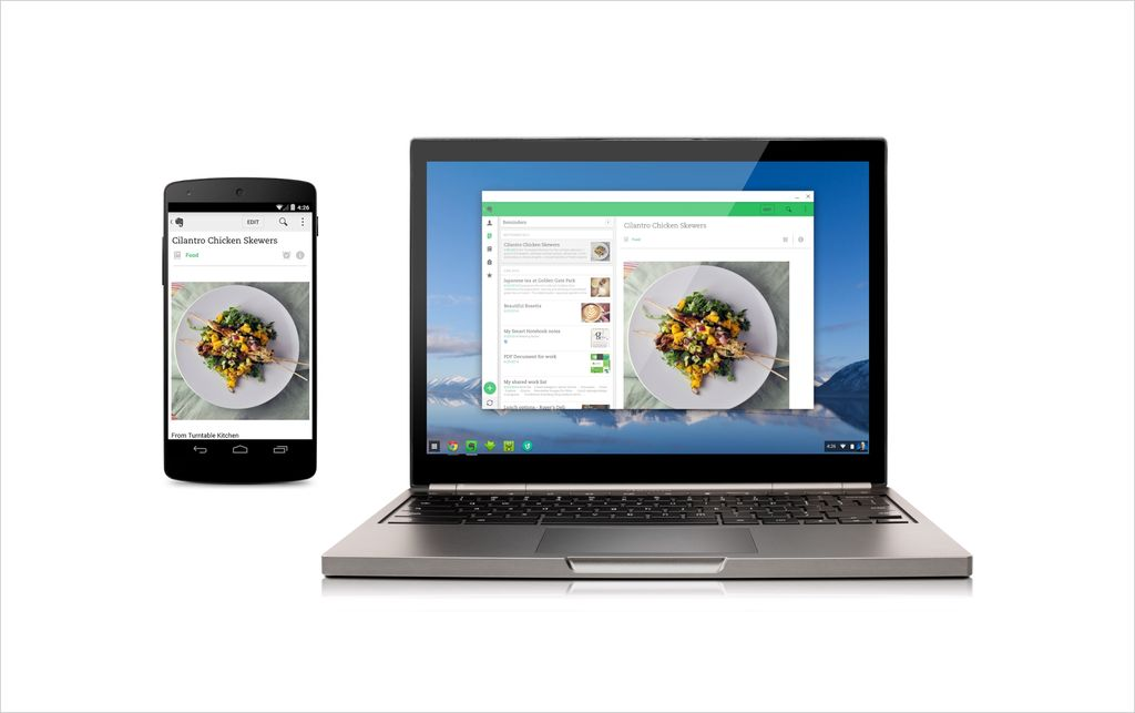 Chrome OS apps Android
