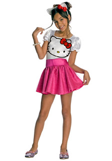 Hello Kitty cute Halloween costume