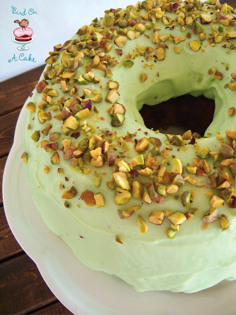 Bird On A Cake: Pistachio Pudding Bundt Cake