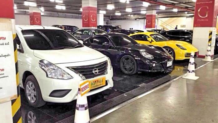 Parkplätze Siam Paragon