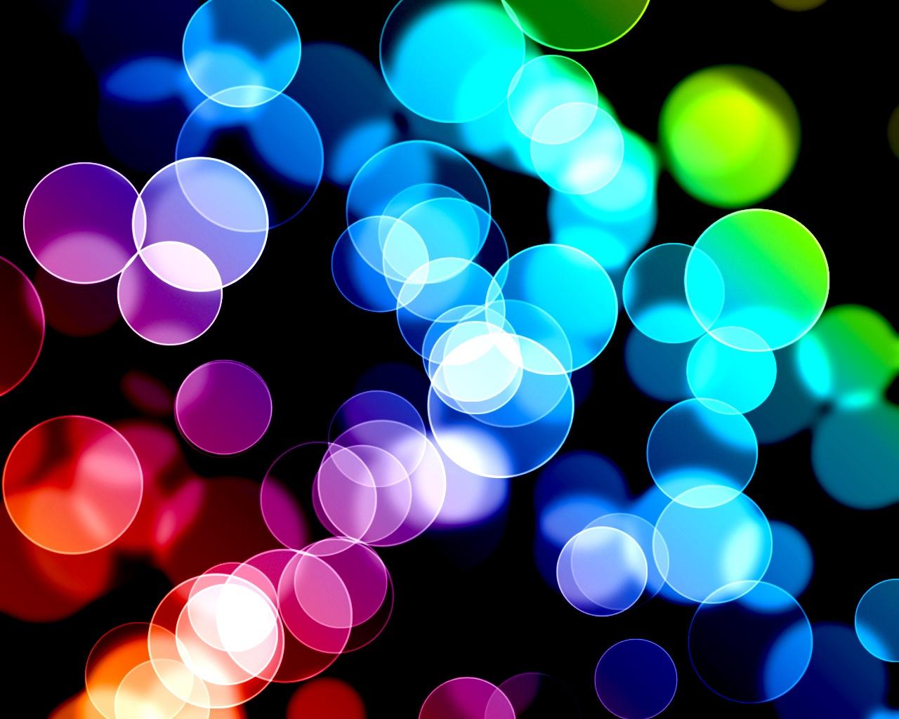Fondos de Pantalla Gratis: Burbujas de colores