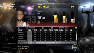 NBA 2K12 New Players Changes Marco Belinelli to Chicago Bulls