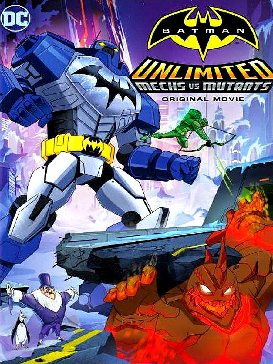 Batman Unlimited: Mech vs. Mutants (Batman ilimitado: Mechs vs Mutantes ) ()