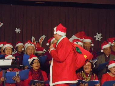 胡坤先生扮聖誕老人