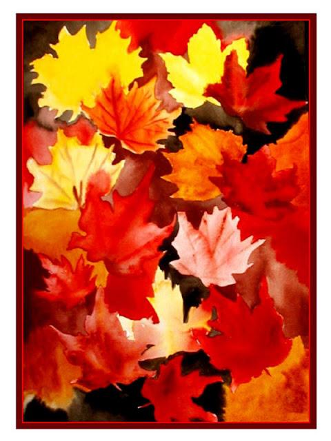 Autumn Leaves Painting Autumn Leaves Paintings
