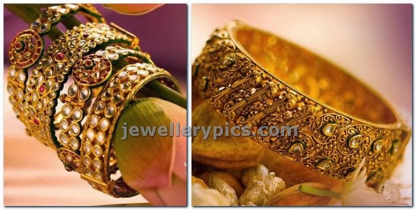 tanishq kundan wedding bangles 2014 deisgns