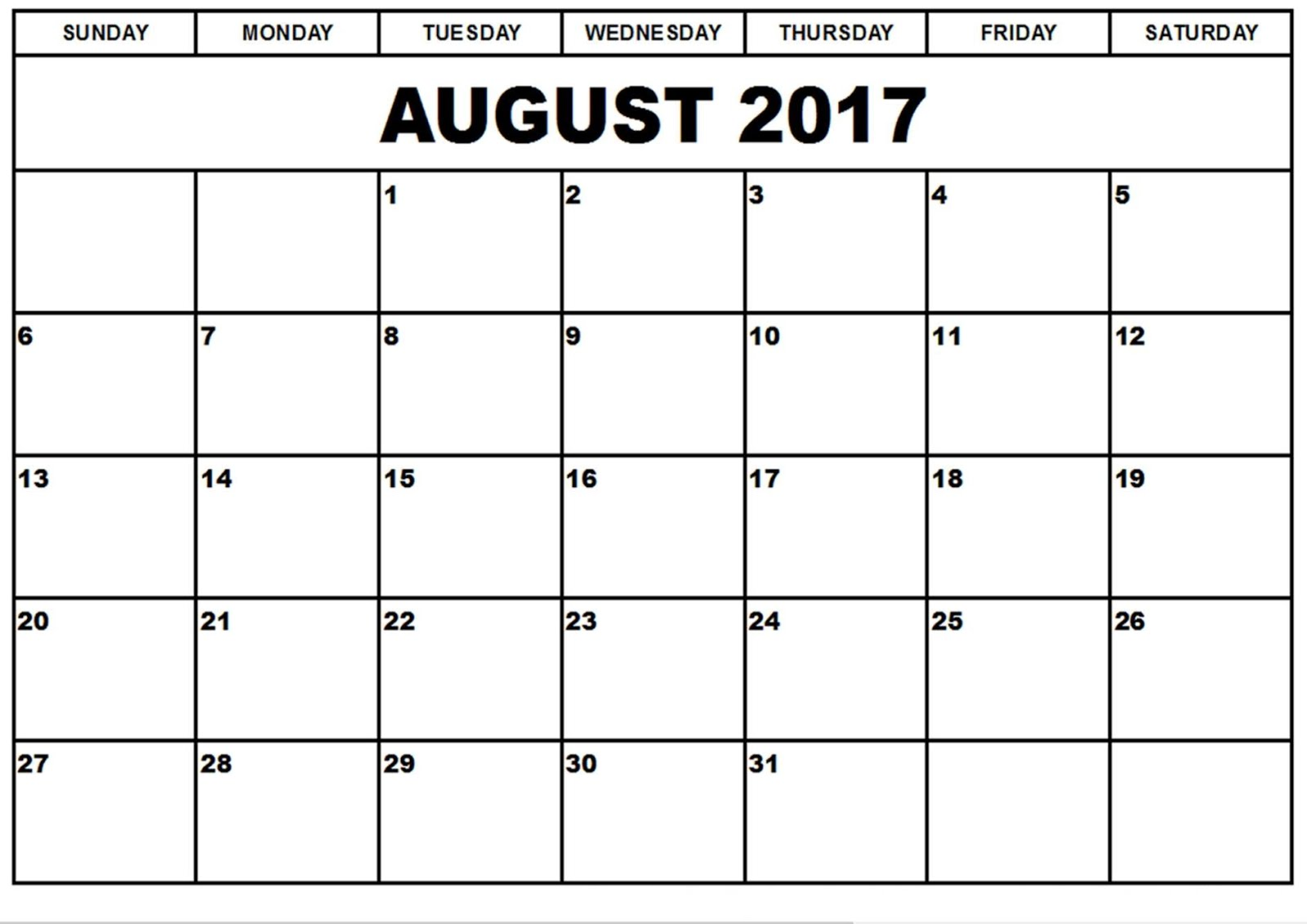 Blank Calendar August : Blank monthly calendar autos we