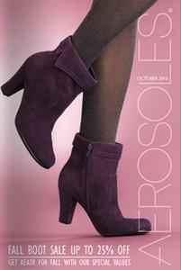 Brinde Gratis Revista Aerosoles Sobre Sapatos