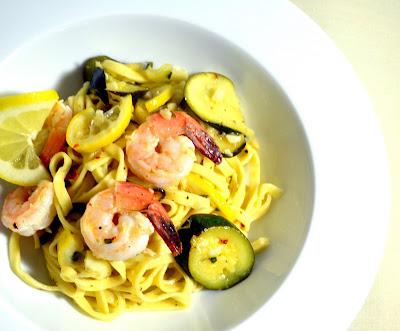 Light and Lemony Shrimp Scampi | The Little Ferraro Kitchen