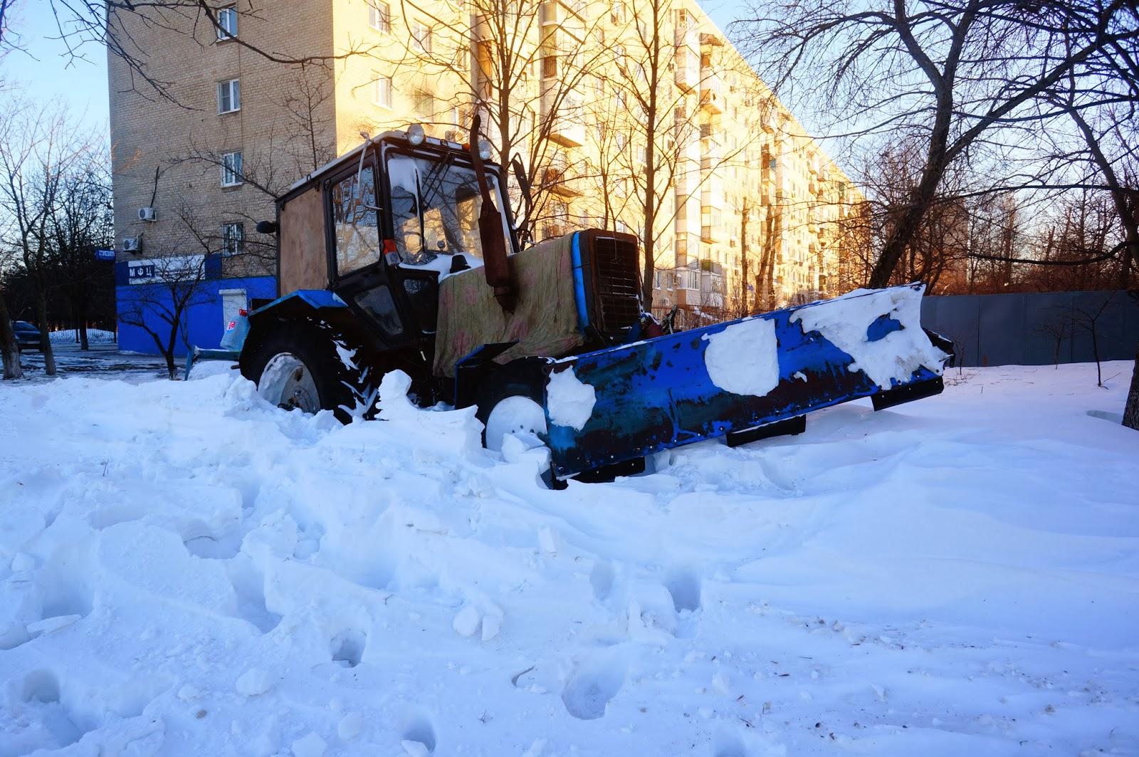 Снегоуборочная Техника в Ростове 2014