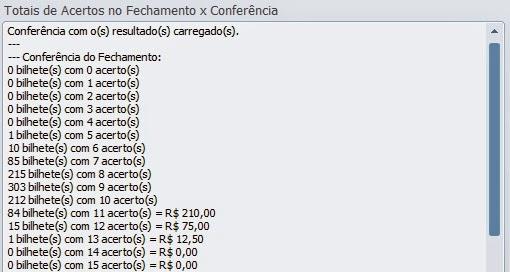 Conferência Lotofácil 0927