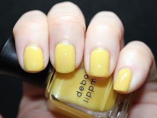 Deborah Lippmann Yellow Brick Road Nail Lacquer Review