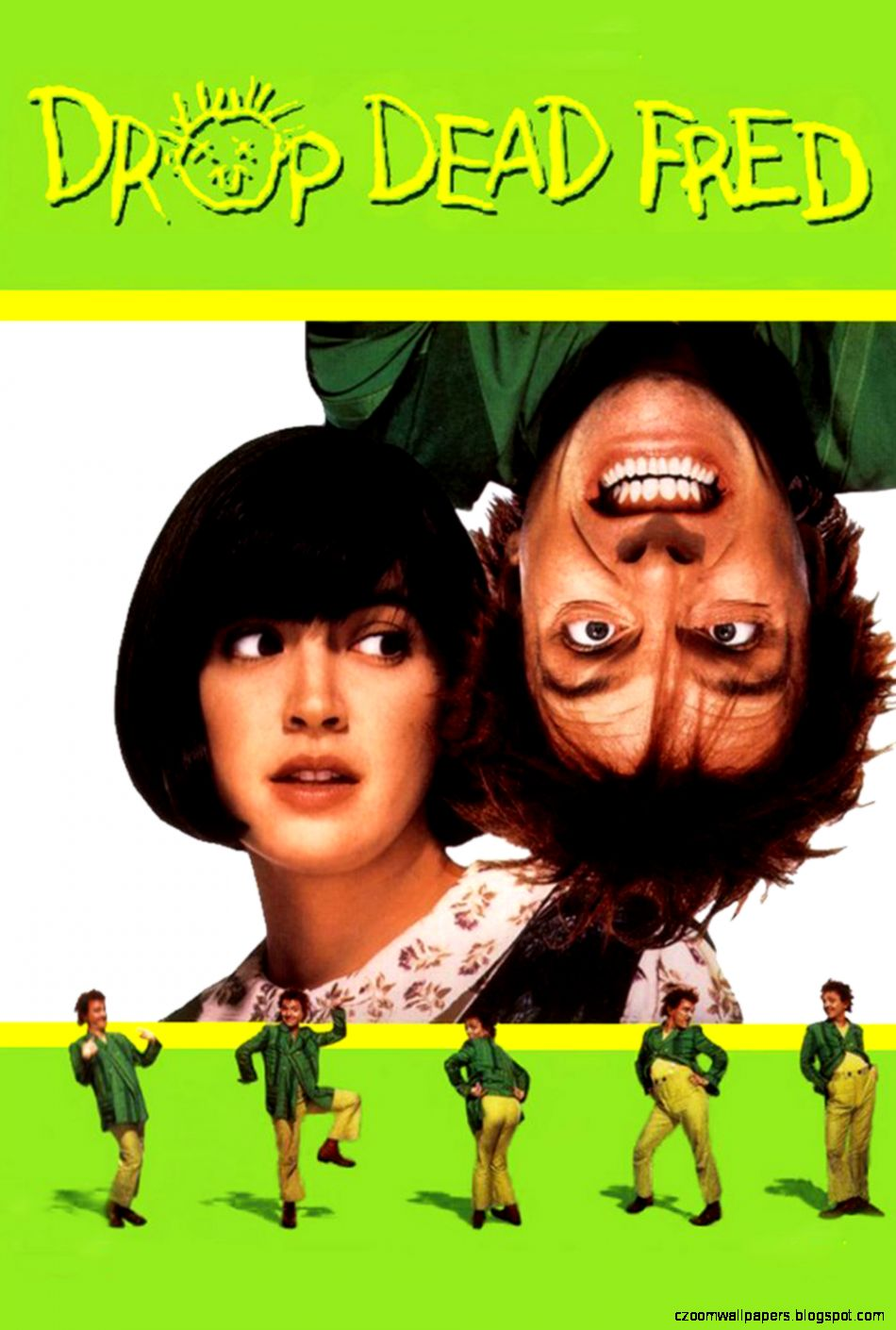 Drop Dead Fred Info Poster Wallpapers and Custom Tracking