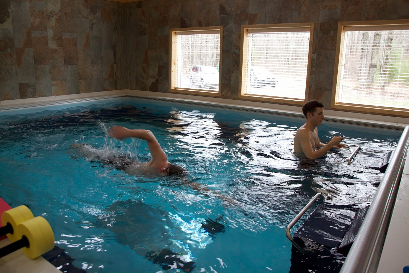Pike Physical Therapy's Dual Propulsion Endless Pool