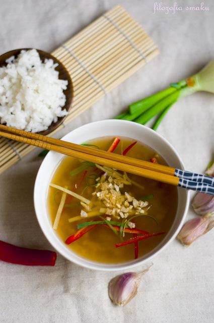 Zupa z ryżem przepis