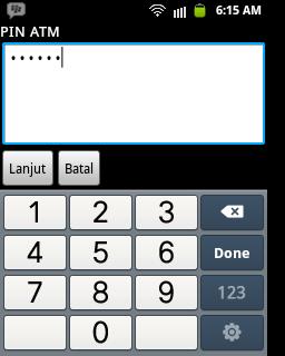 Mobile Banking Bank Syariah Mandiri untuk Android