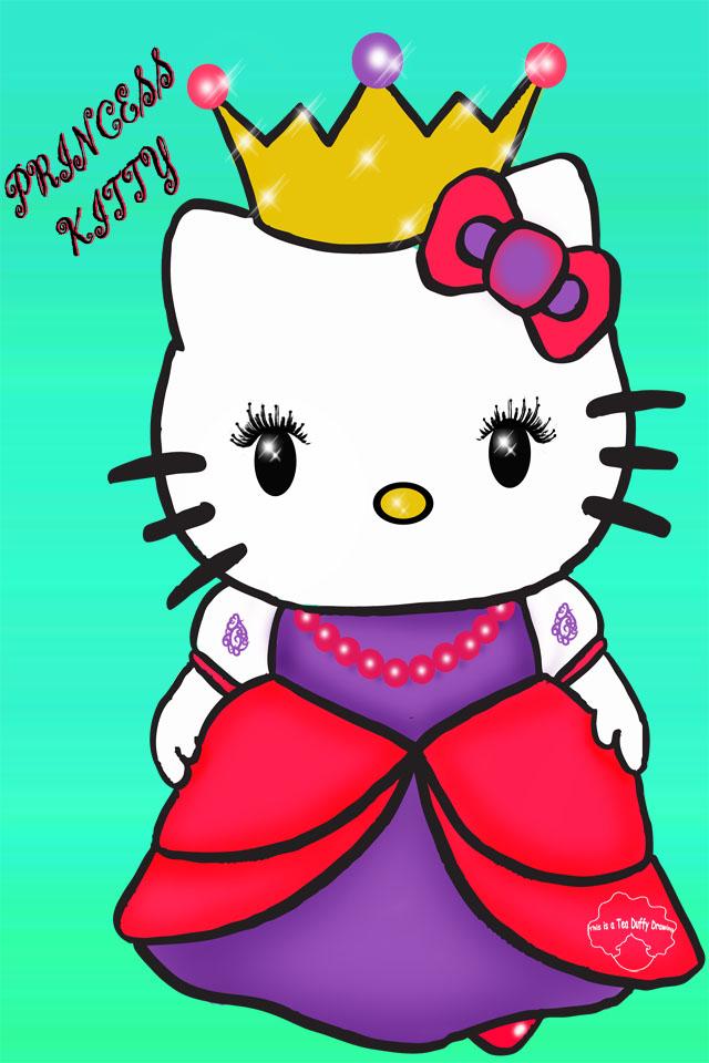 Duffy draws princess hello kitty wallpaper - Princesse hello kitty ...