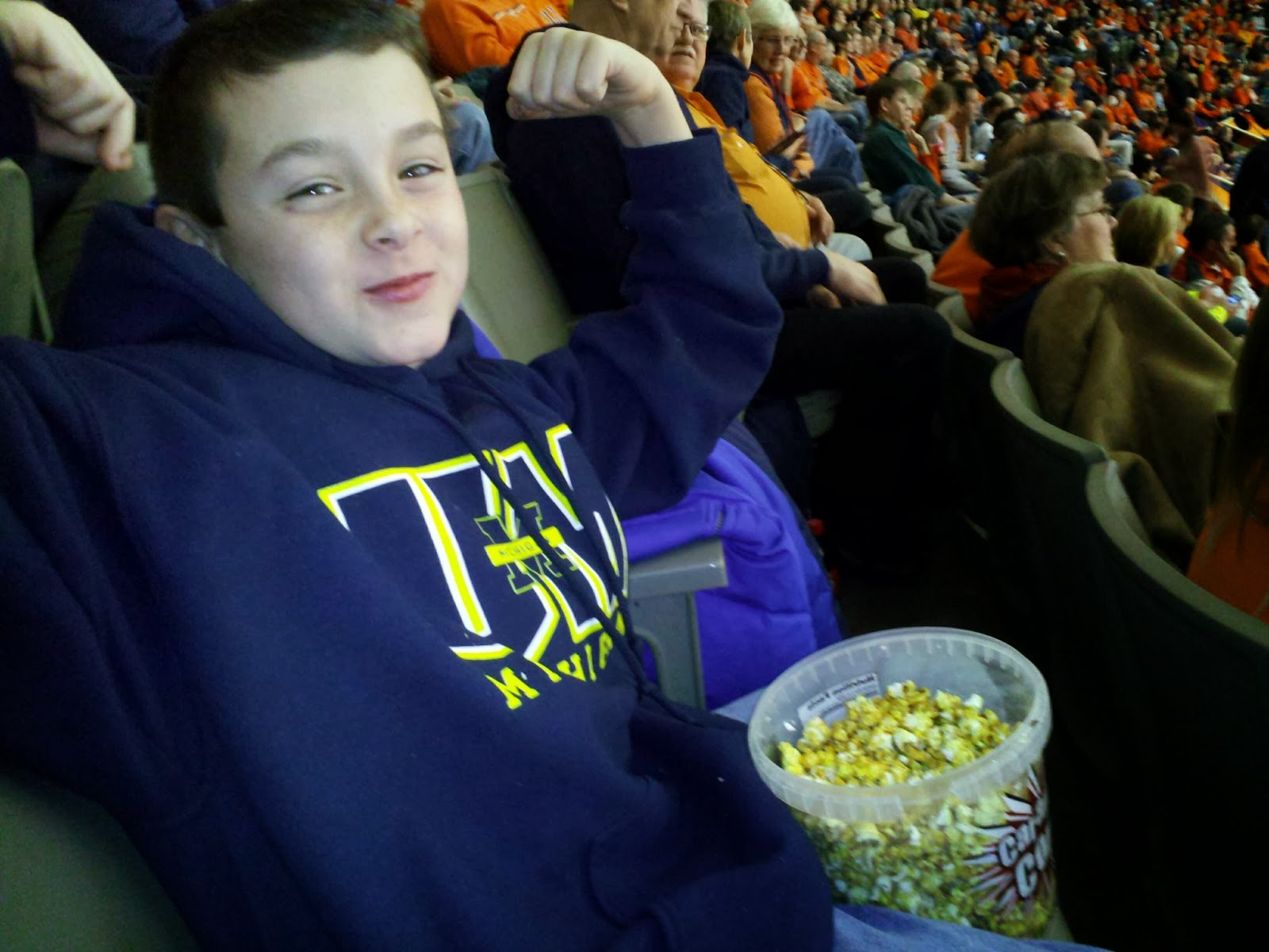 Popcorn king!