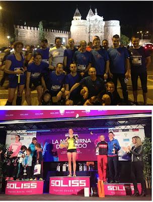 Atletismo Aranjuez en Nocturna de Toledo