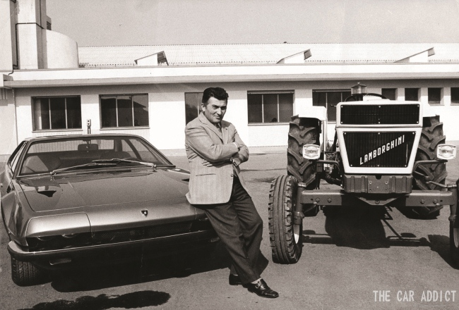 February 20th 1993 - Ferruccio Lamborghini died, I was born