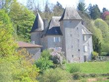 Chateau de Farsac été 1965, un morceau d'enfance...