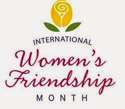 Happy International Women's Friendship Month!