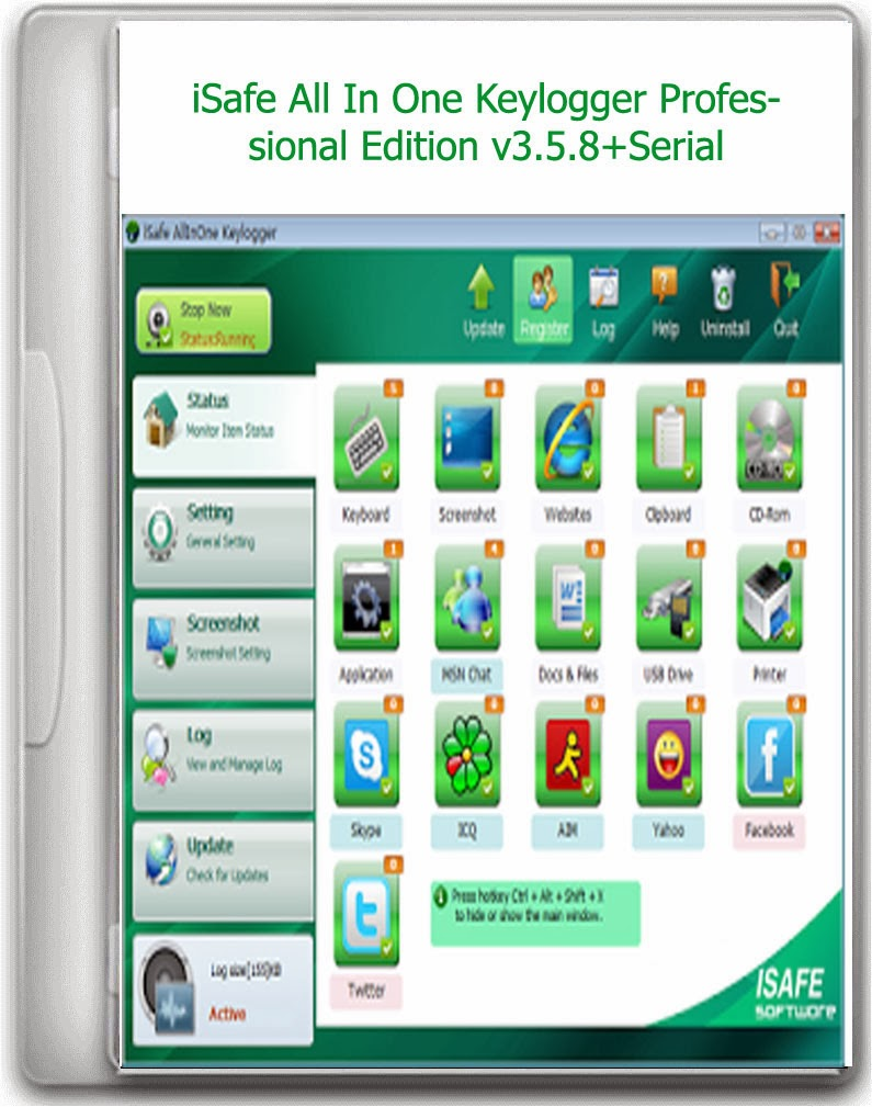 Isafe allinone keylogger professional edition v 3.0.2