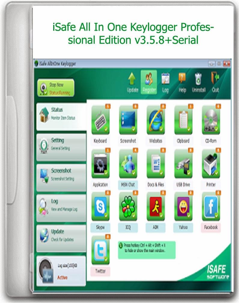 Isafe allinone keylogger professional edition v 3.0.2