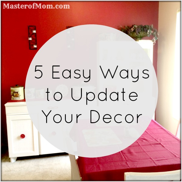 Easy ways to redecorate, cheap ways to redecorate, simple ways to decorate