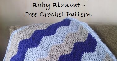 EyeLoveKnots: I Love This Soft Ripple Baby Blanket - Free ...