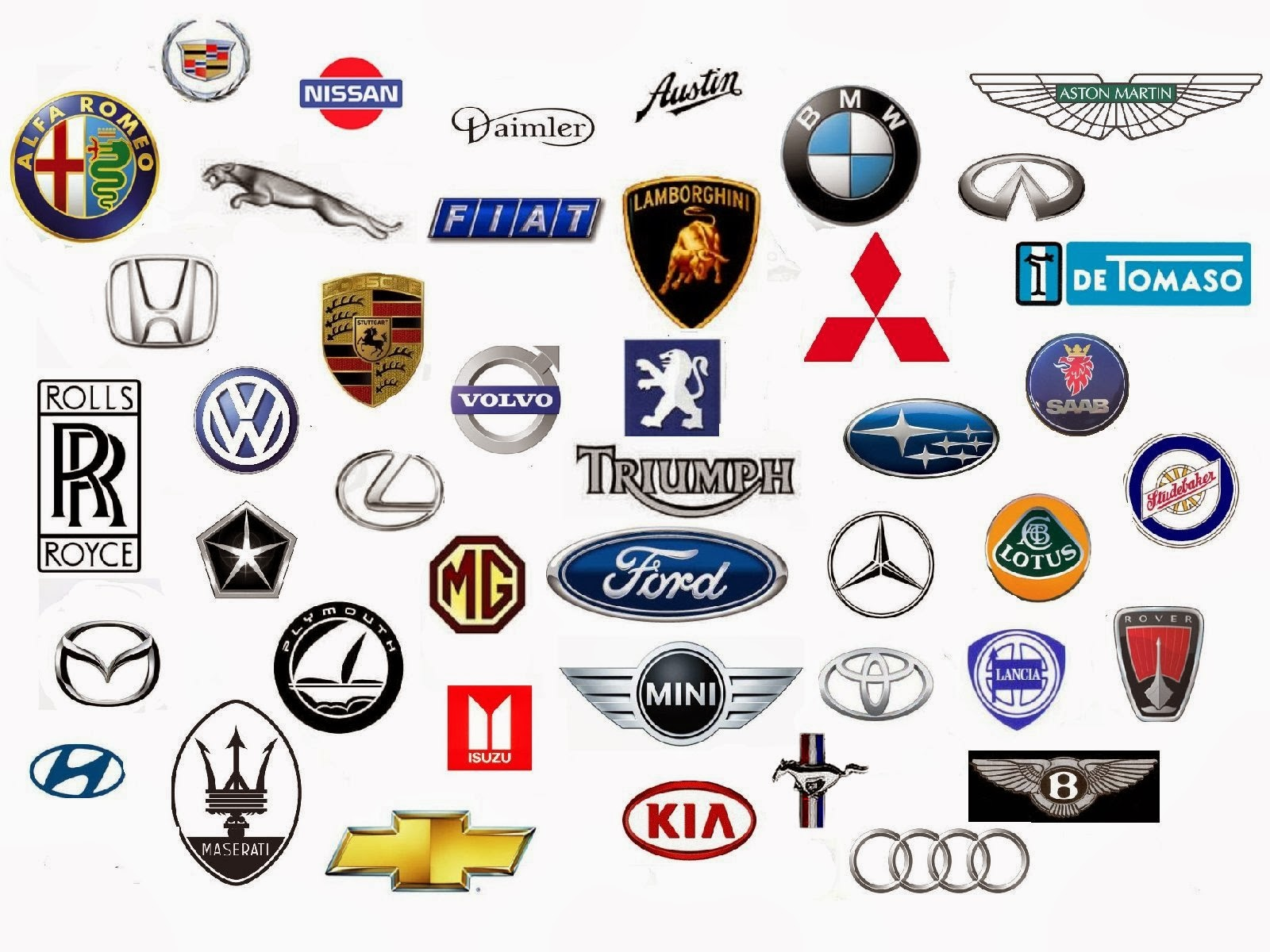 Car Logos And Their Brand Names >> LOGOS IMAGE