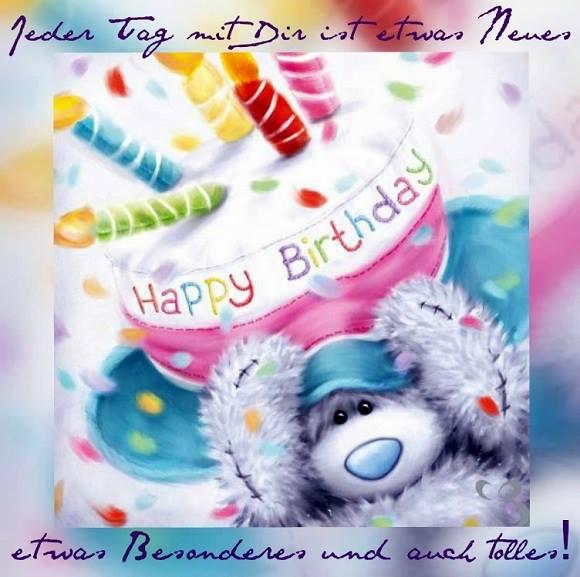 Jeder Tag mit Dir ist etwas Neues etwas Besonderes und auch tolles!   Geburtstagswünsche Lustig ...