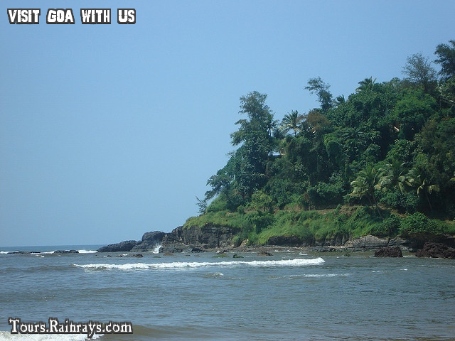 Tourist Place Baga Beach Goa India. tour india, travel India, Memorable tour india