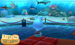 animal crossing aquarium