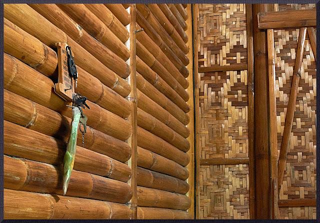 bamboo house, interior,keys, beauty