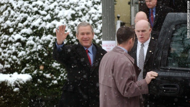 Joe Clancy with President Bush