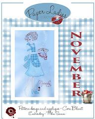 November Paper Lady pattern