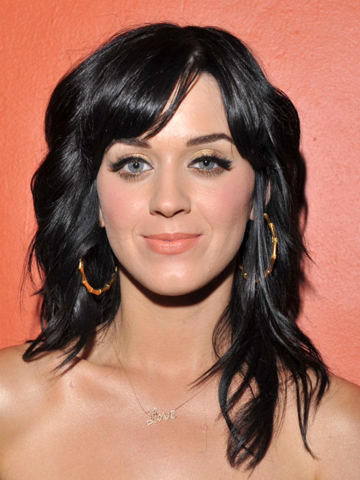 Perry Katy hairstyles pictures rare photo
