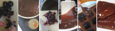 Zubereitung Amarenakirsch-Chili-Pralinen