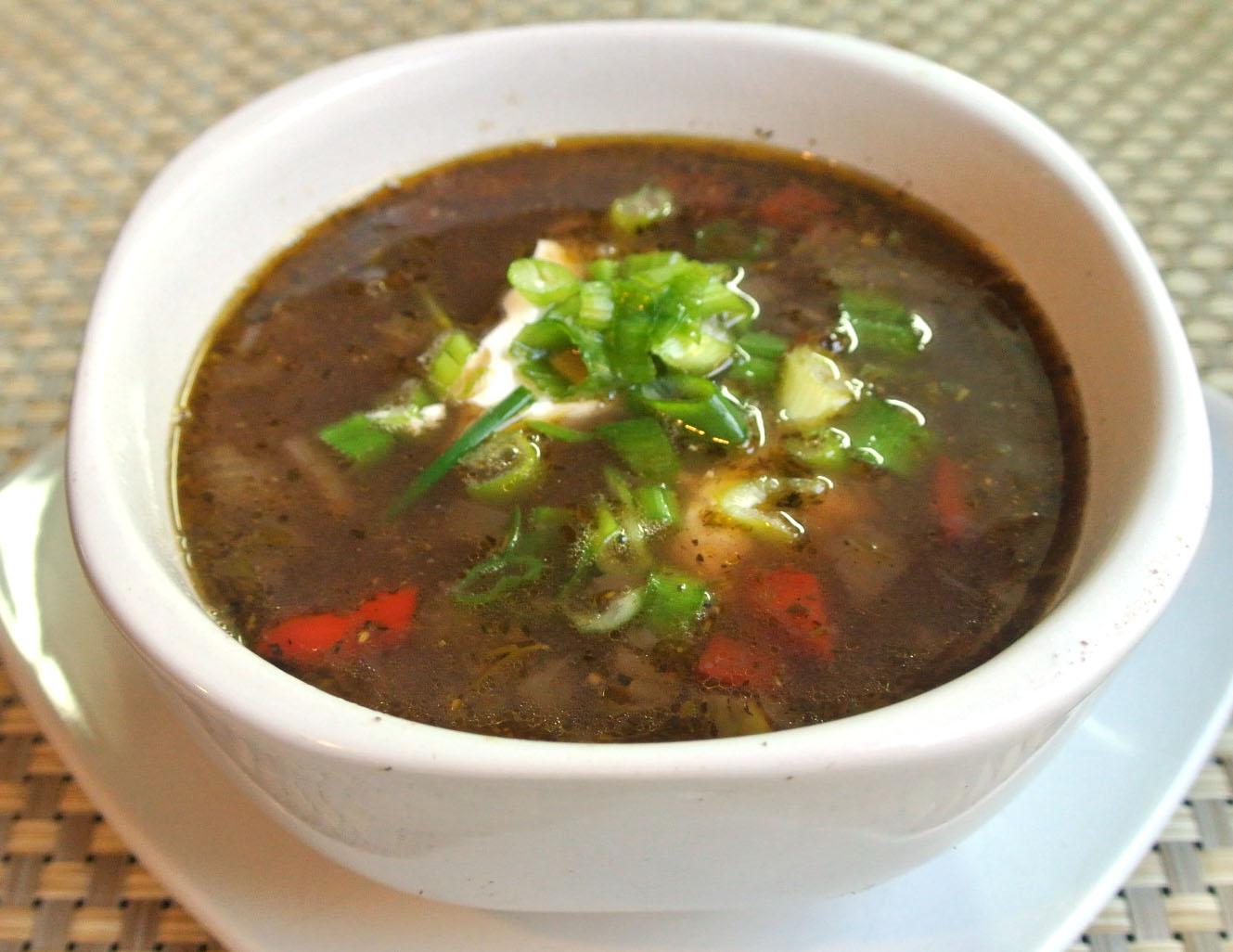 Mom, What's For Dinner?: Slow Cooker Black Bean Soup