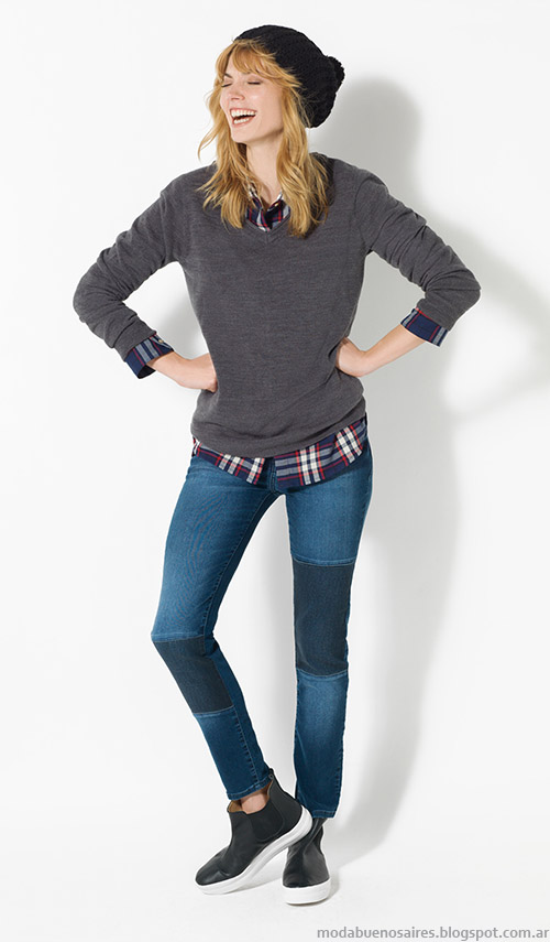 Sweaters invierno 2015 Yagmour. Moda otoño invierno 2015.