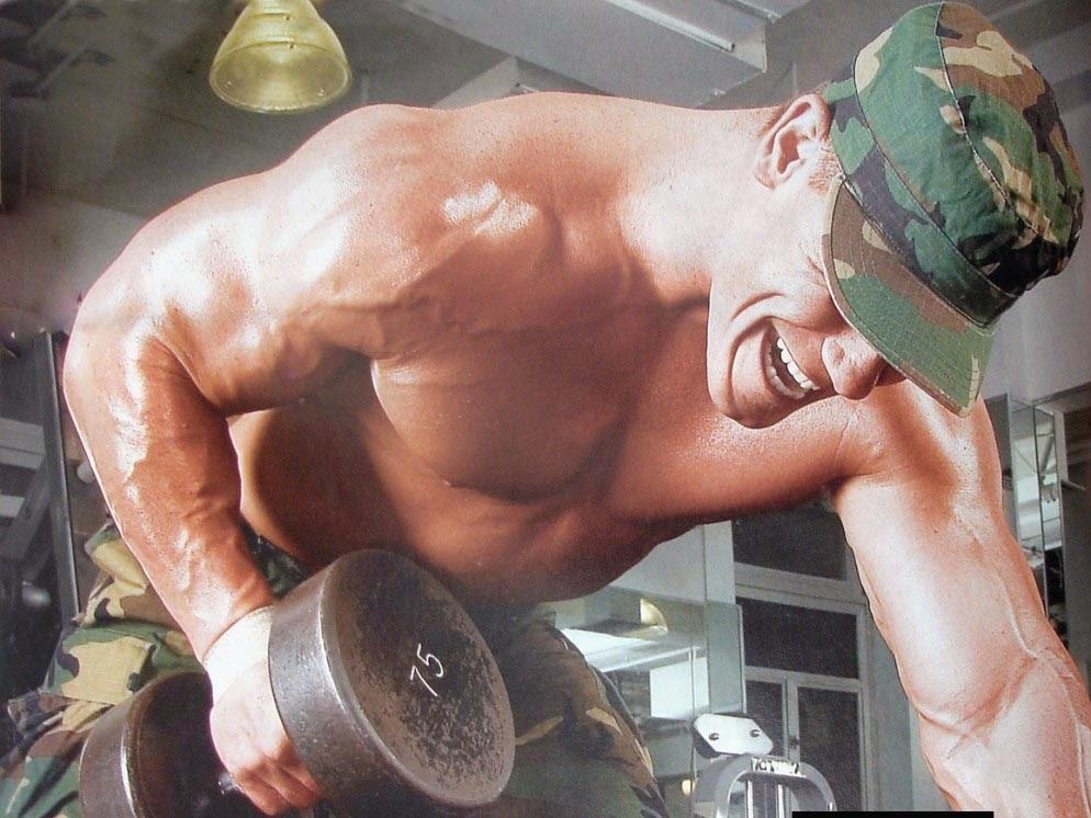 John cena bodybuilding workout