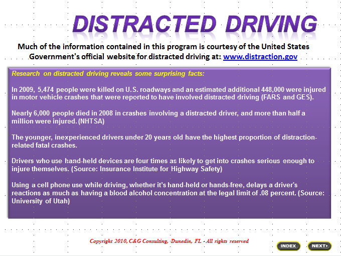 Write my distracted driving essay