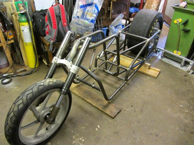 Gsx1500 Dragbike On It S Wheels