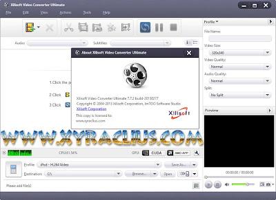 Xilisoft Video Converter Ultimate 7.7.2 Build 20130217 Full Keygen