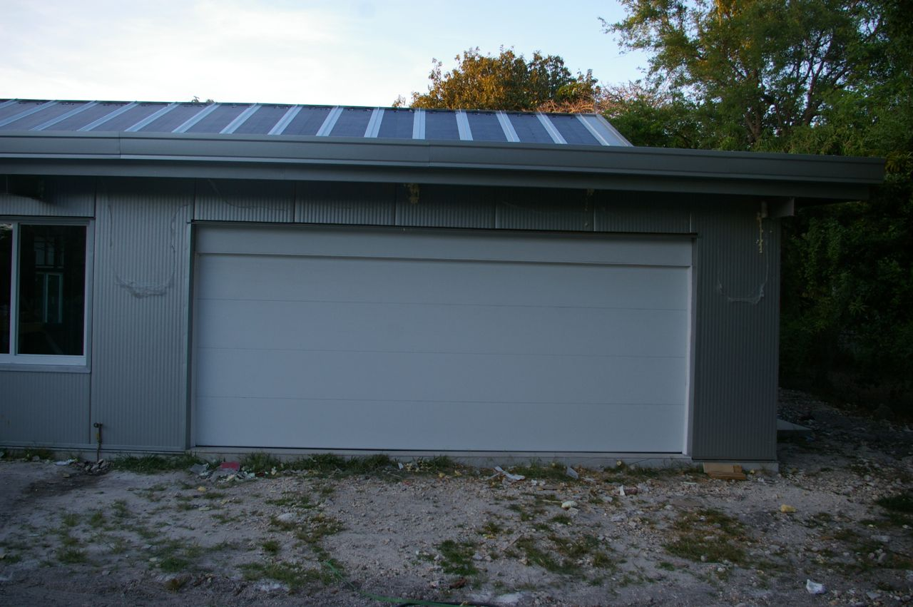 Tin Box: Garage Door