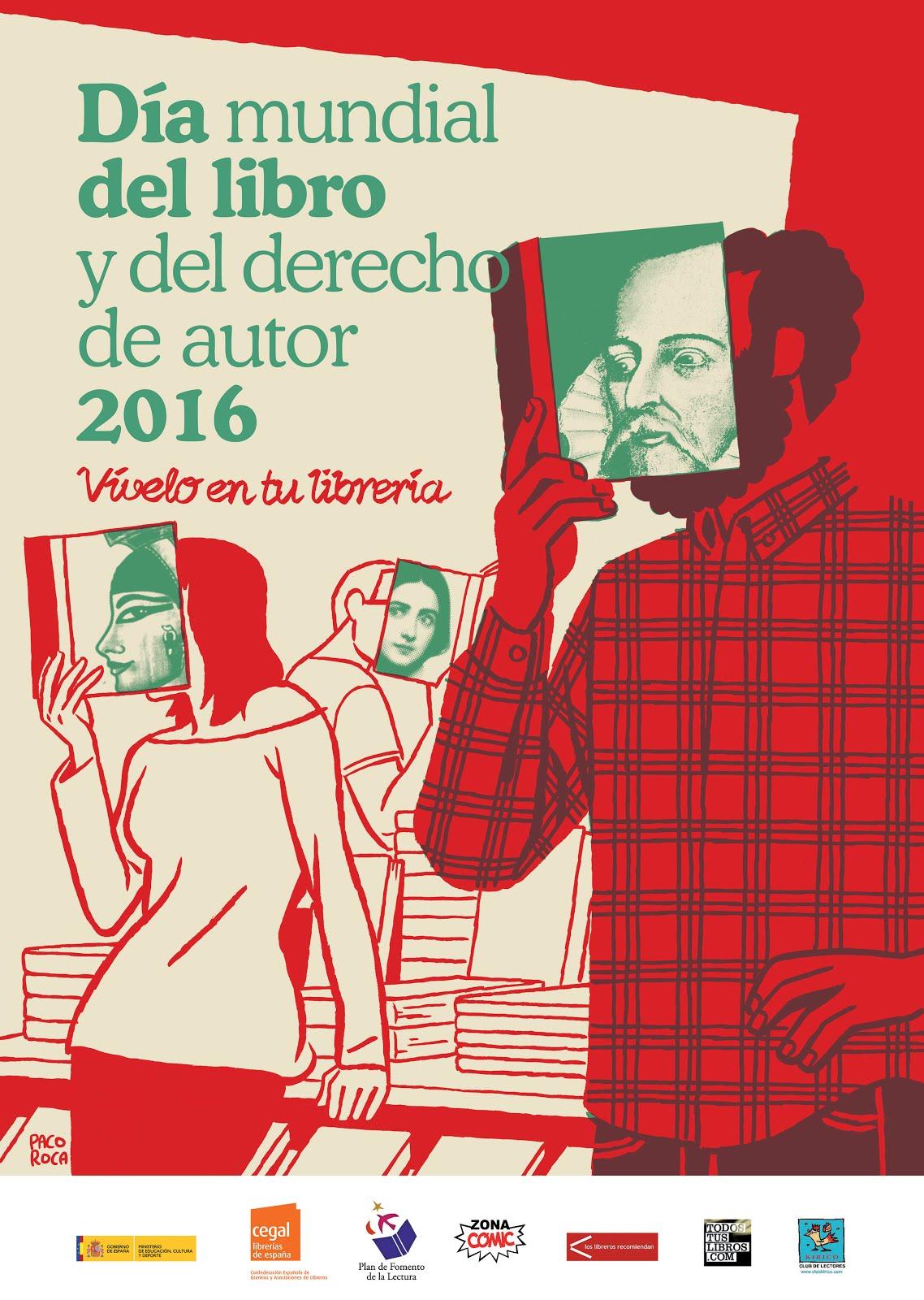 #Díadellibro 2016