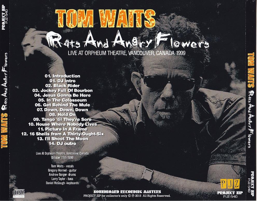 T.U.B.E.: Tom Waits - 1999-10-17 - Vancouver, BC (FM/FLAC)