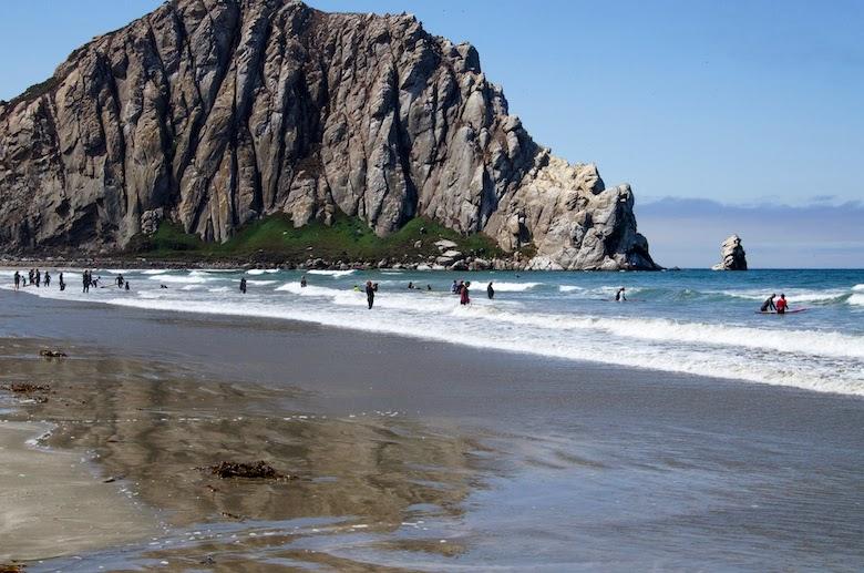 South Pacific Coast Highway Morro Bay Morro Rock