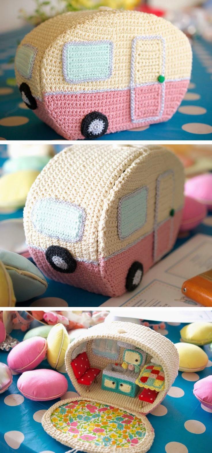 Patrones crochet manualidades y reciclado ideas para el for Cosas para el hogar